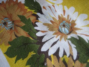 Vintage Tablecloth Close-up